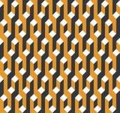 模式无缝的向量 现代时髦的抽象纹理 皇族释放例证