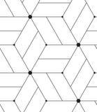 模式无缝的向量 现代线几何背景 皇族释放例证