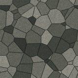 模式无缝的平板石头 免版税库存图片