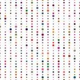 模式无缝的数据条 传染媒介五颜六色的纹理 向量例证