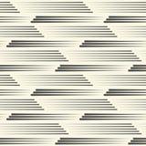 模式无缝的数据条 抽象线路纹理 皇族释放例证