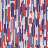 模式无缝的数据条 免版税库存图片