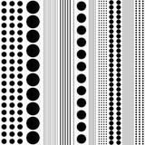模式无缝的数据条 皇族释放例证