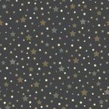模式无缝的星形 库存照片
