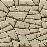 模式无缝的石向量 免版税库存照片