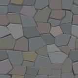 模式无缝的石头 库存照片
