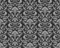 模式无缝的葡萄酒墙纸 免版税库存照片