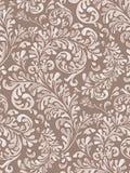 模式无缝的葡萄酒墙纸 免版税库存图片