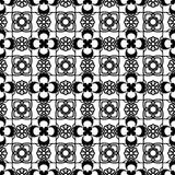 模式无缝的葡萄酒 无缝抽象几何的模式 背景经典例证红色向量 也corel凹道例证向量 库存照片