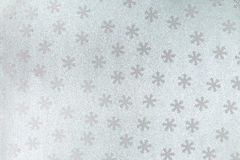 模式无缝的雪花 免版税图库摄影