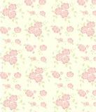 模式无缝粉红色的玫瑰 向量例证