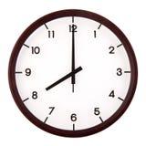 模式时钟 免版税库存图片
