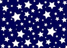 模式星形 库存照片