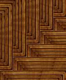 模式木头 向量例证