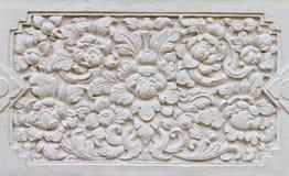 模式样式泰国墙壁 免版税库存图片