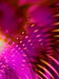 模式桃红色荧光减速火箭 图库摄影