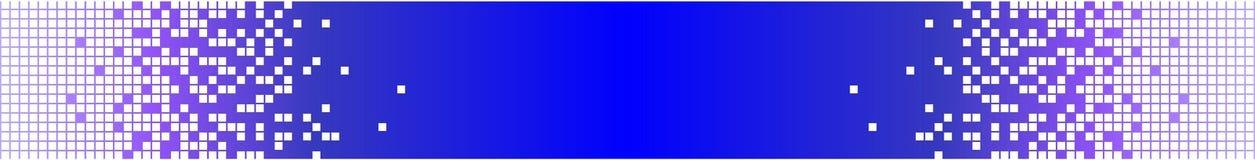 模式横幅蓝色数字式满足技术 免版税库存图片