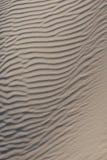 模式波纹沙子 免版税图库摄影
