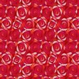 模式玫瑰无缝的墙纸 库存照片
