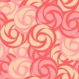 模式玫瑰无缝风格化 免版税库存照片