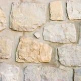 模式石墙 免版税库存图片