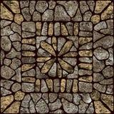 模式石头 库存例证