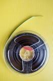 模式磁性带卷轴  库存图片