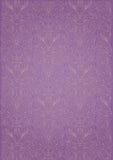 模式紫色重复 免版税库存照片