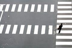模式街道 免版税库存图片