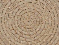 模式被编织的纹理柳条 库存图片