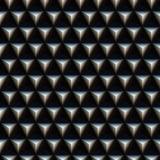 模式钉牢三角 库存照片