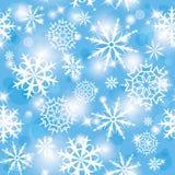 模式雪 免版税图库摄影