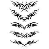模式 设计 纹身花刺 免版税库存照片