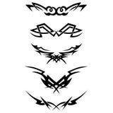 模式 设计 纹身花刺 库存例证