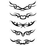 模式 设计 纹身花刺 向量例证