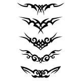 模式 设计 纹身花刺 库存图片