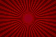 模板和横幅产品的b红色五颜六色的半径背景 库存例证