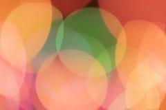 模糊的五颜六色的光 免版税库存图片