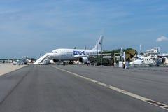 模仿作用失重的航空器空中客车A310 ZERO-G 免版税图库摄影