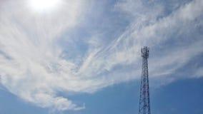 横向做照片俄国天空符拉迪沃斯托克 免版税图库摄影