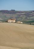 横向农村toscana 免版税图库摄影