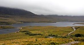 横向北部农村苏格兰 库存图片