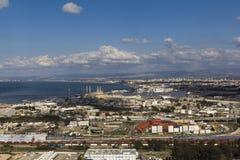 横向在海法2 免版税库存图片