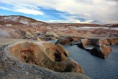 横向在玻利维亚 库存图片