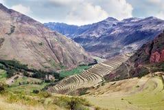 横向在秘鲁 免版税库存照片