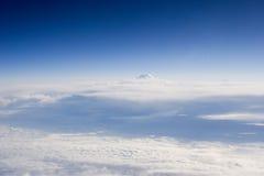 横向天空 库存图片