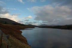横向奈斯湖苏格兰 库存图片