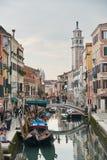 横向威尼斯 免版税库存图片