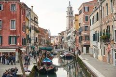 横向威尼斯 免版税图库摄影