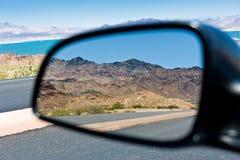 横向山反映 库存照片
